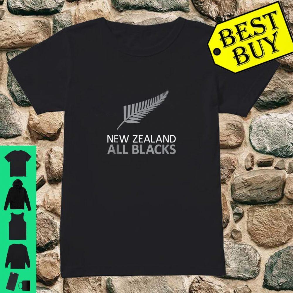 New Zealand Fern AB Rugby Fan Stylish shirt ladies tee