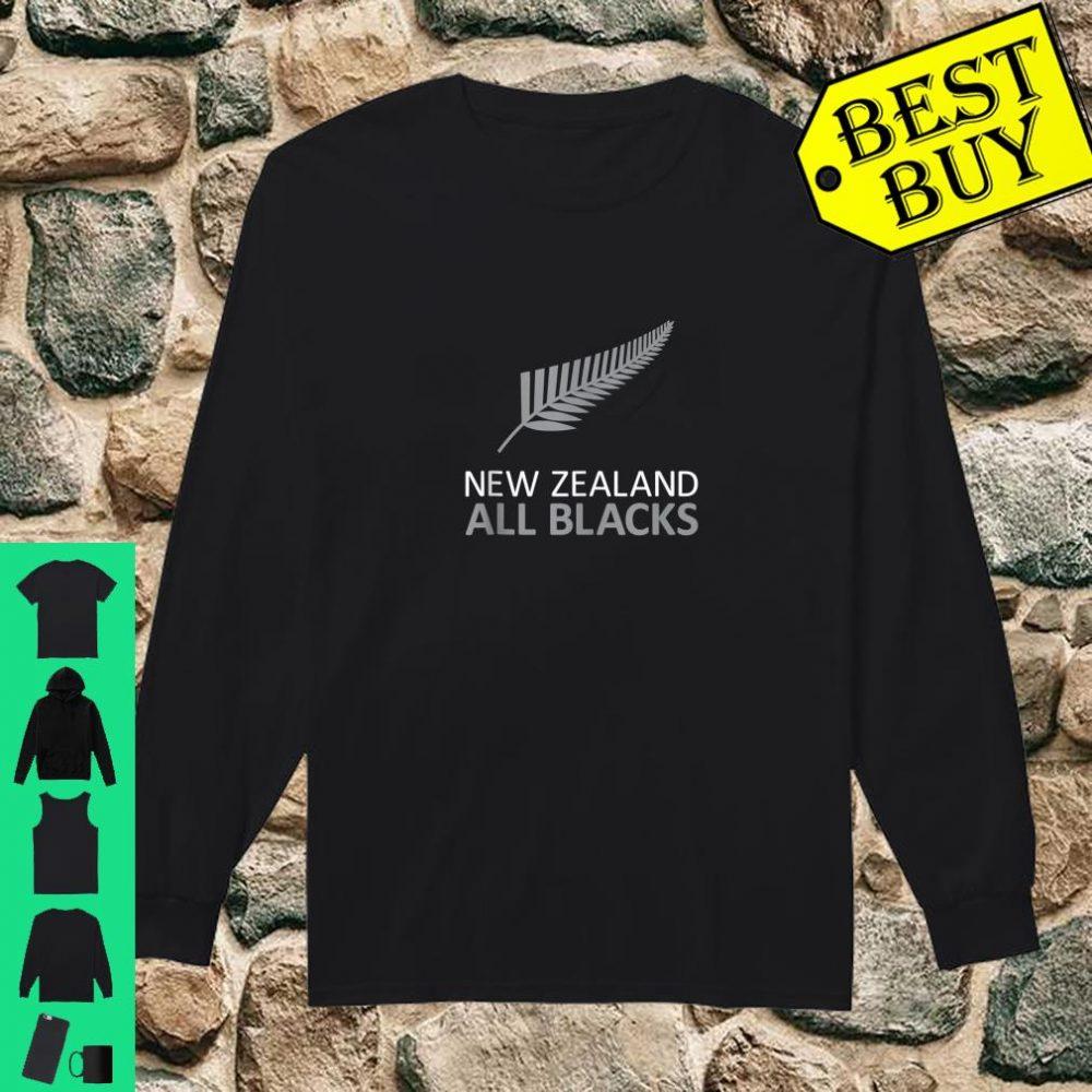 New Zealand Fern AB Rugby Fan Stylish shirt long sleeved