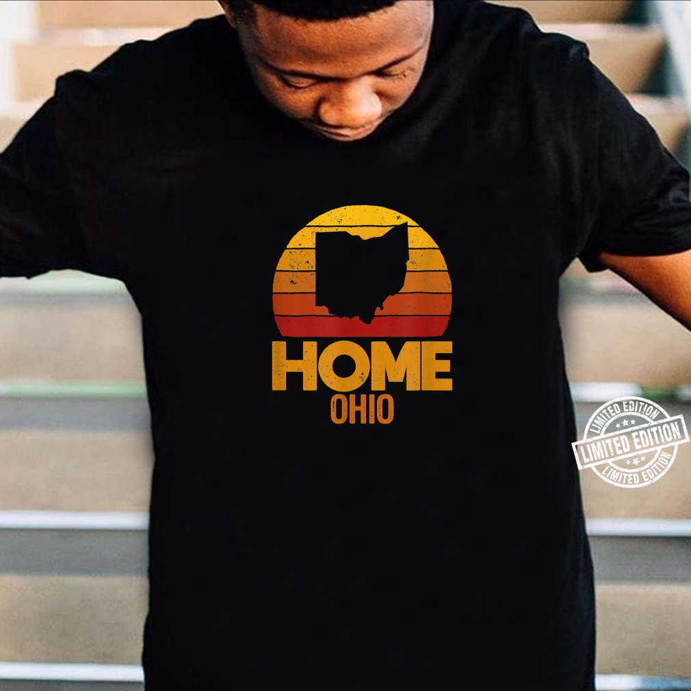 Ohio Home Vintage Ohio Love Retro for Ohios Distressed Shirt