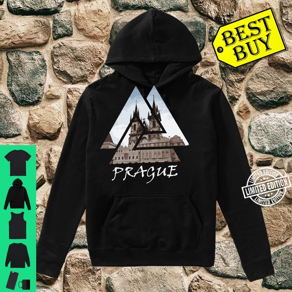 Old Town Square Prague Geometric, Czech Travel Shirt hoodie