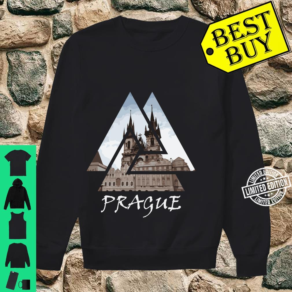 Old Town Square Prague Geometric, Czech Travel Shirt sweater
