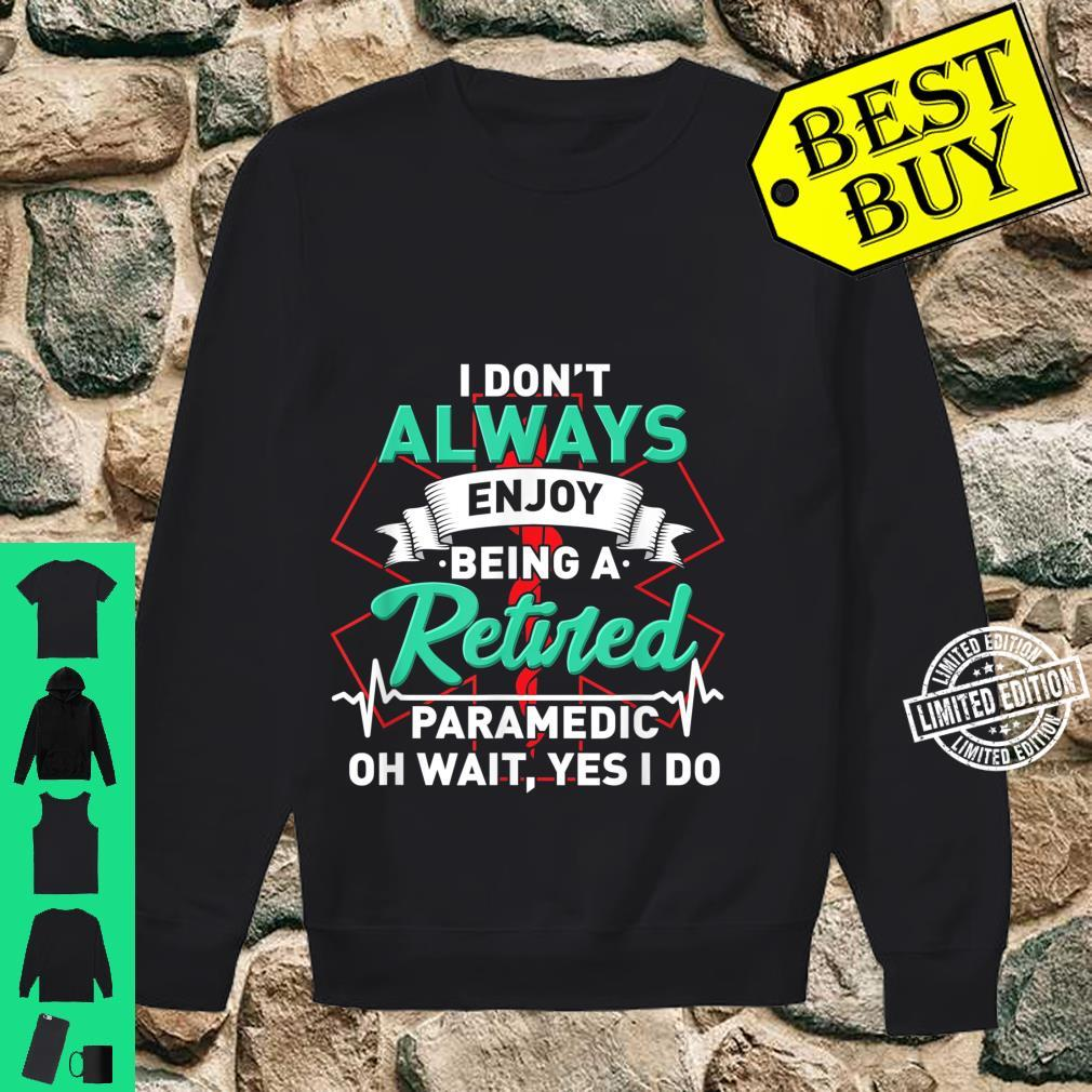 Retired Paramedic For First Responder Shirt sweater
