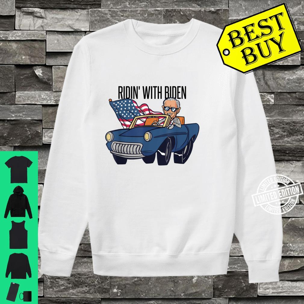 Ridin with Biden for President 2020 Shirt sweater