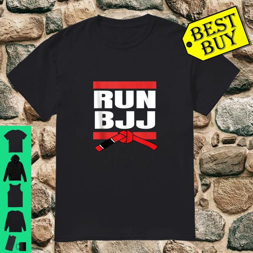 Run BJJ Hip Hop Rap MMA Grappling Gifts For Jiu Jitsu shirt