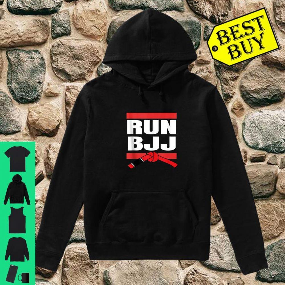 Run BJJ Hip Hop Rap MMA Grappling Gifts For Jiu Jitsu shirt hoodie
