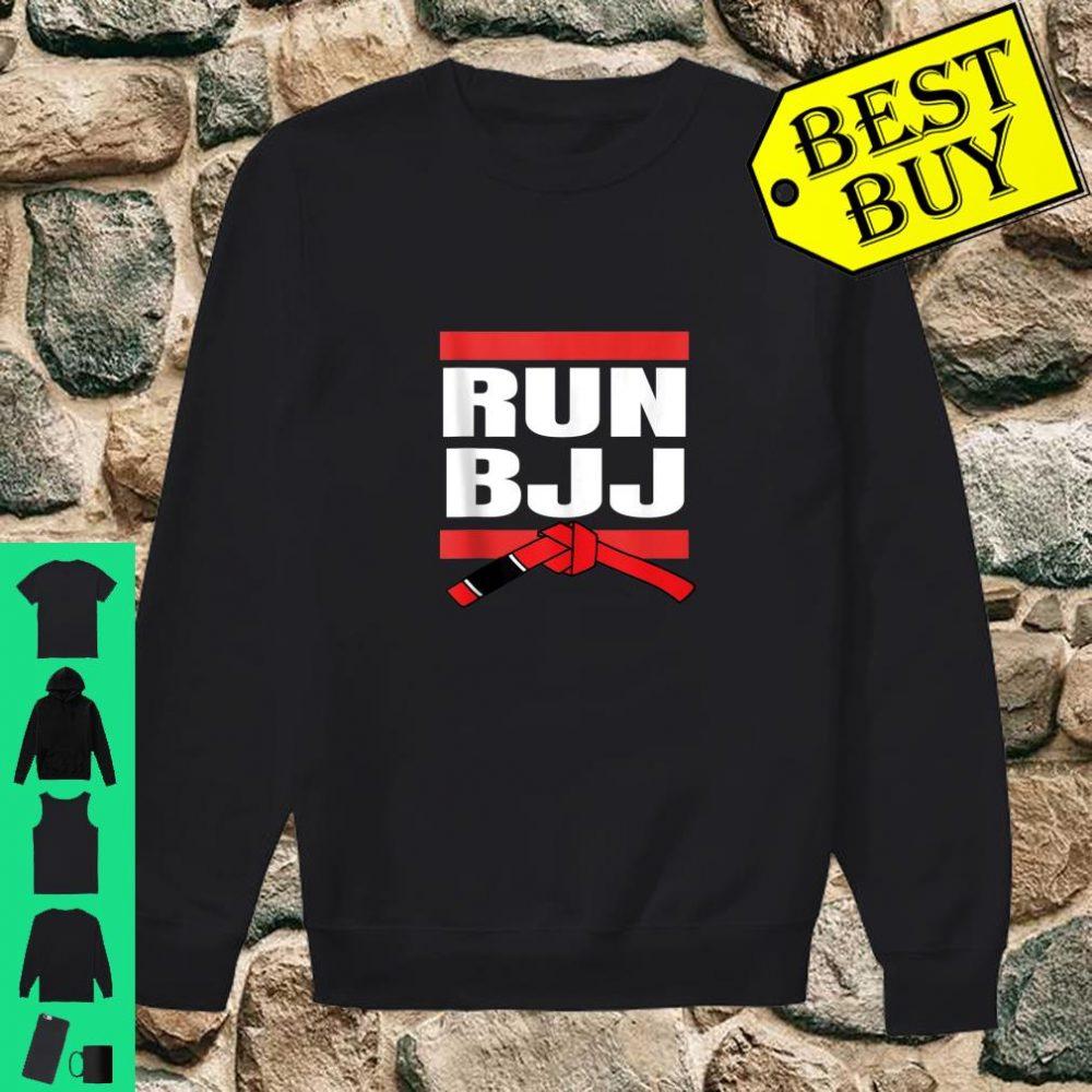 Run BJJ Hip Hop Rap MMA Grappling Gifts For Jiu Jitsu shirt sweater
