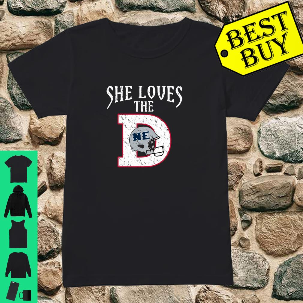 She Loves The New England Shirt ladies tee