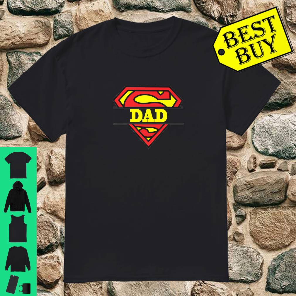 Shirts Super Dad My Real Super Hero Shirt
