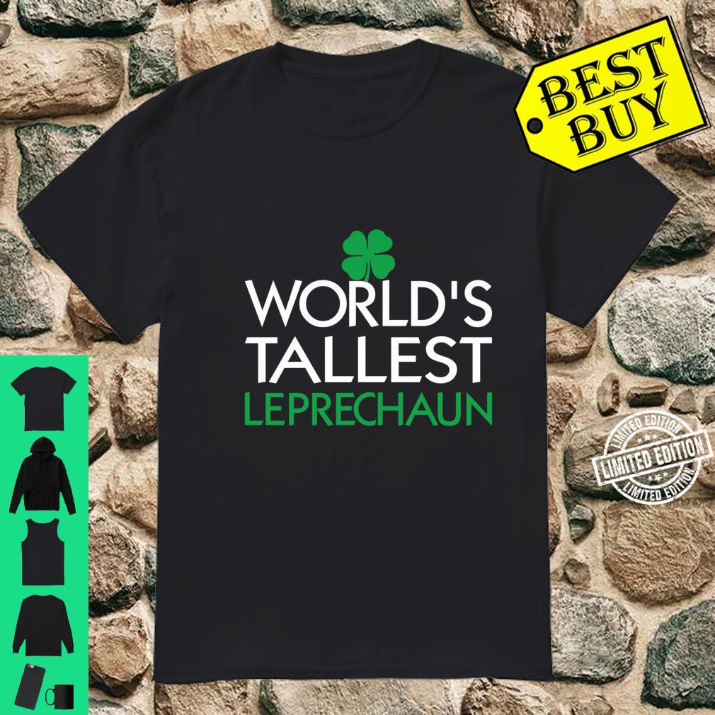 St. Patrick, World's Tallest Leprechaun Outfit Shirt