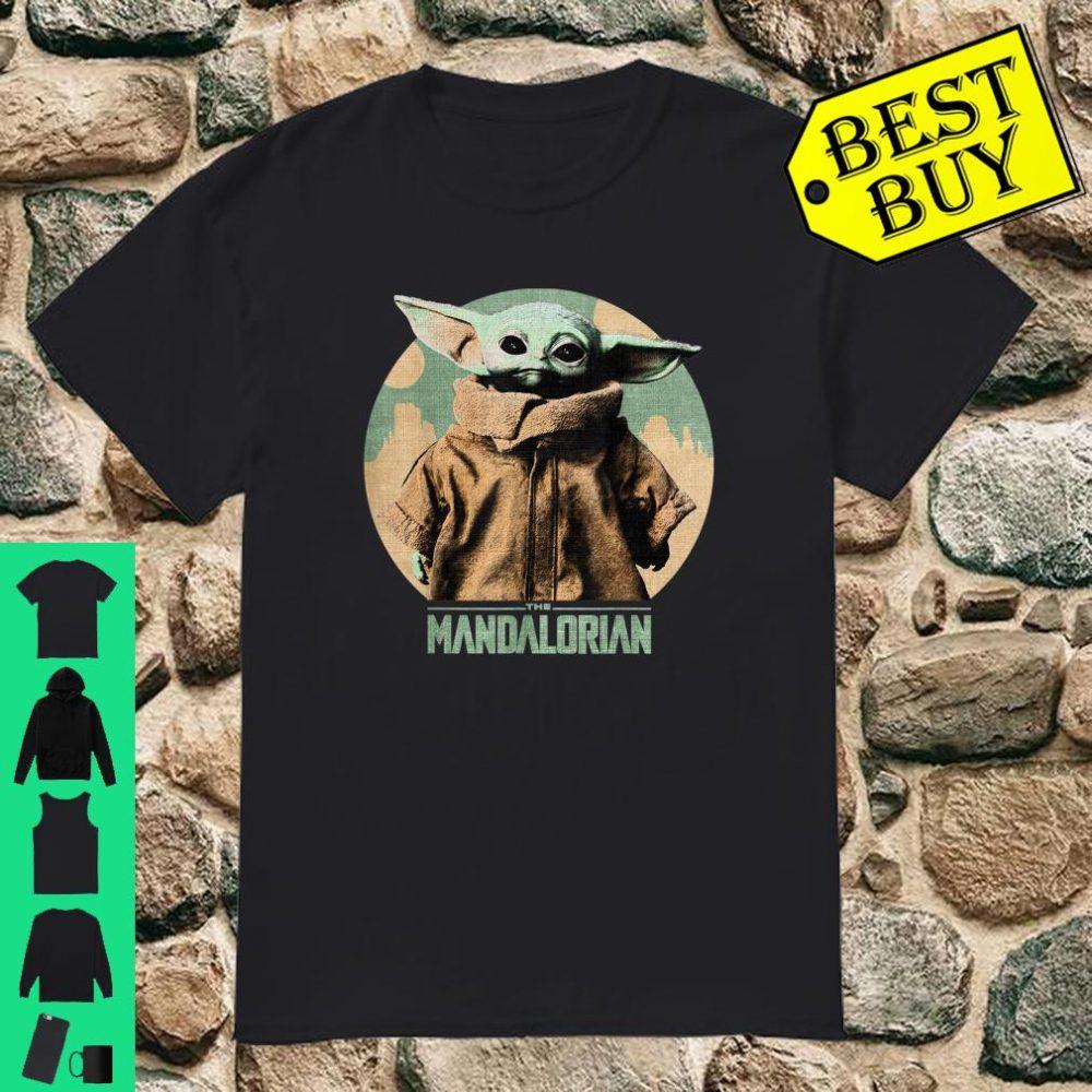 Star Wars Baby Yoda The Mandalorian The Child Faded Portrait shirt