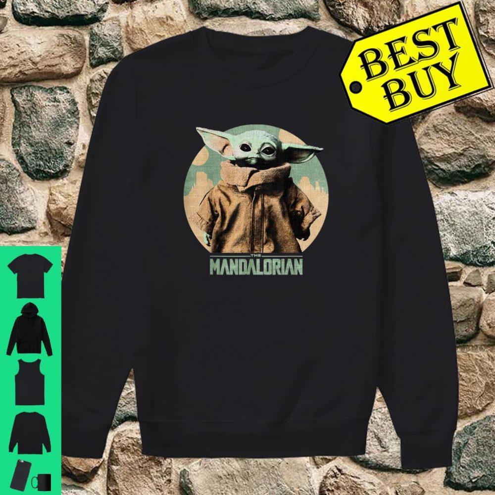 Star Wars Baby Yoda The Mandalorian The Child Faded Portrait shirt sweater