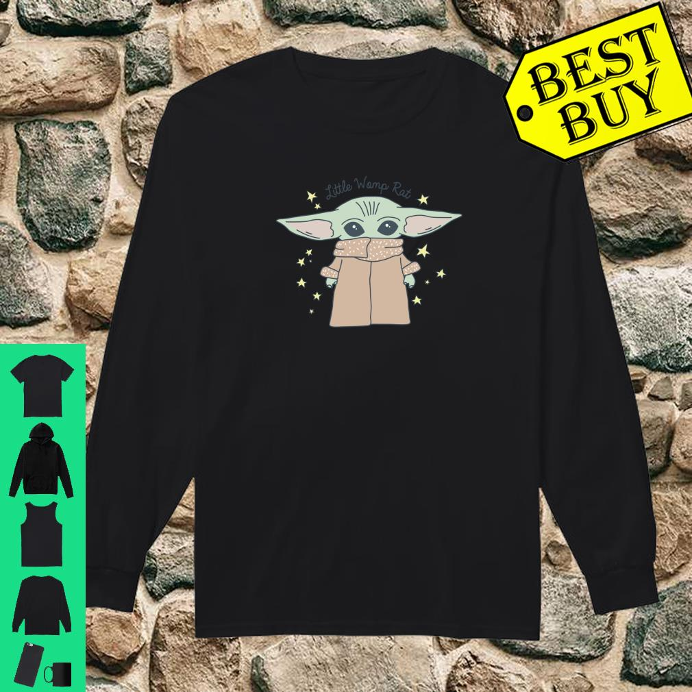 Official Star Wars Baby Yoda The Mandalorian The Child Little Womp Rat Shirt Hoodie Tank Top And Sweater Male mandalorian reader x star wars rebels. star wars baby yoda the mandalorian