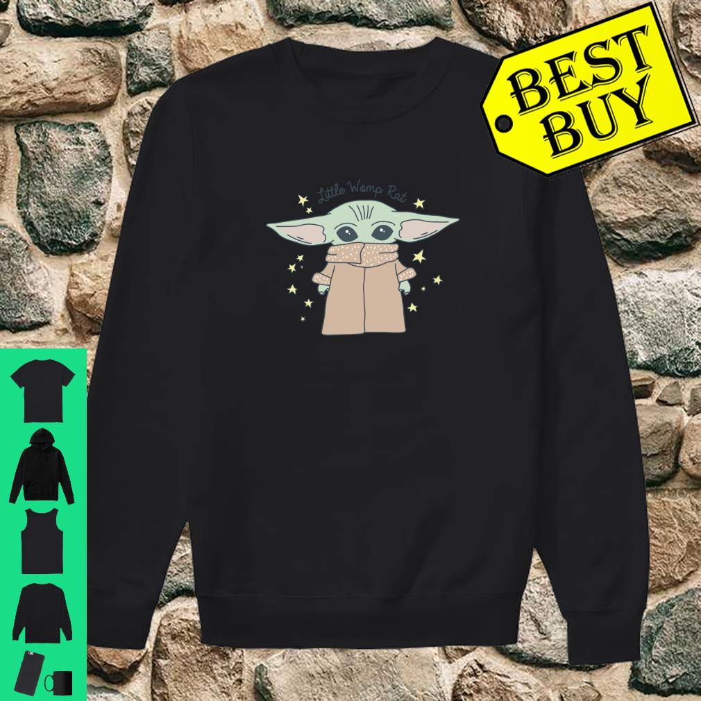 Official Star Wars Baby Yoda The Mandalorian The Child Little Womp Rat Shirt Hoodie Tank Top And Sweater These are the best yoda quotes from master yoda himself. star wars baby yoda the mandalorian