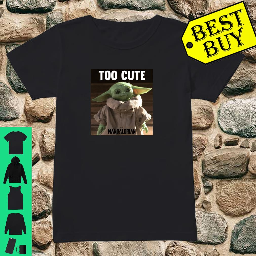 Star Wars Tshirt Toddler T-Shirt Yoda Too Cute