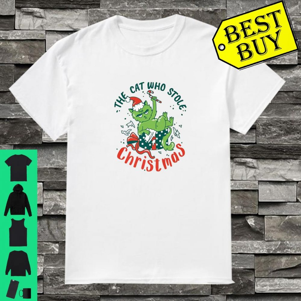 The Cat Who Stole Christmas 2019 shirt