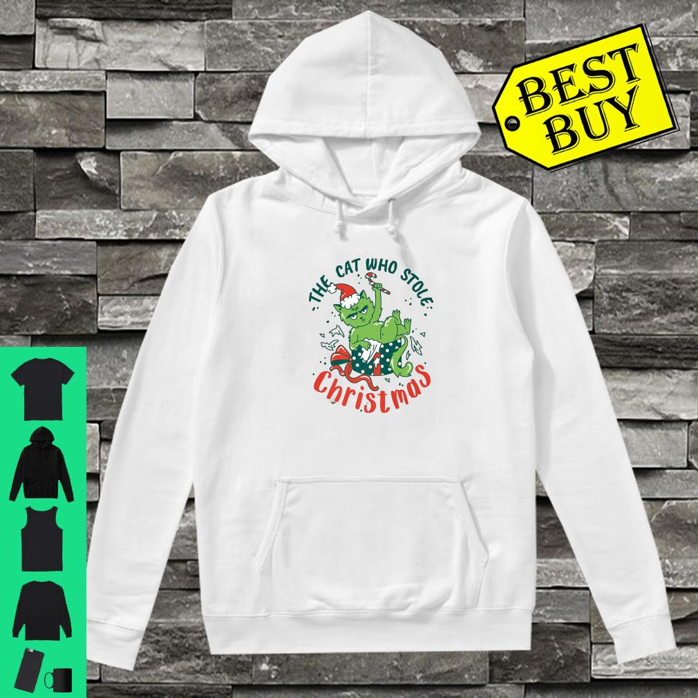 The Cat Who Stole Christmas 2019 shirt hoodie
