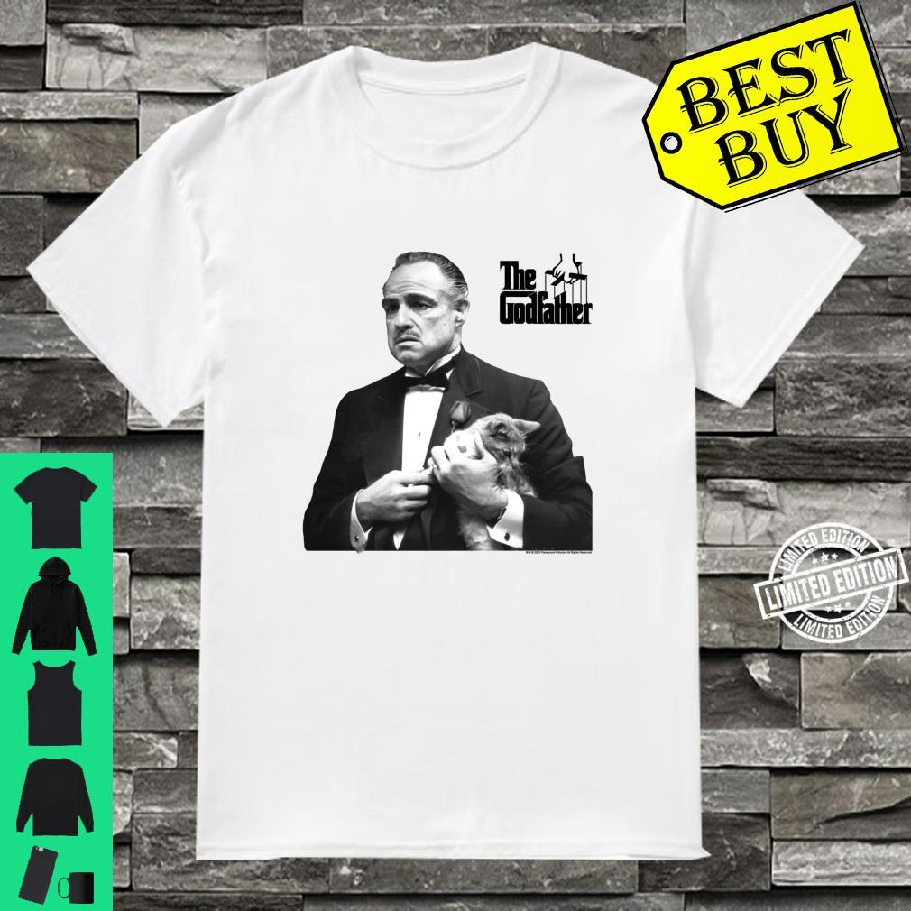 The Godfather, The Don with Cat White Shirt