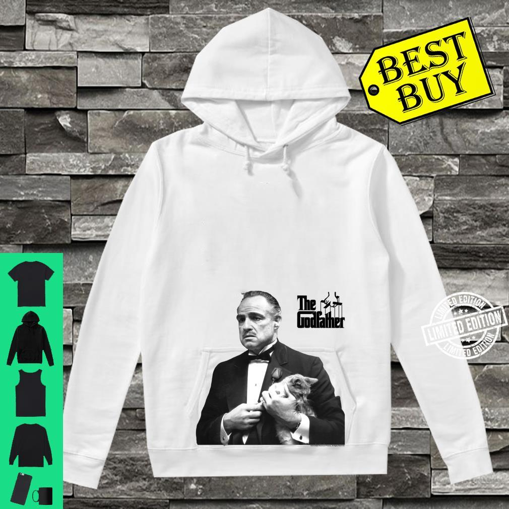 The Godfather, The Don with Cat White Shirt hoodie
