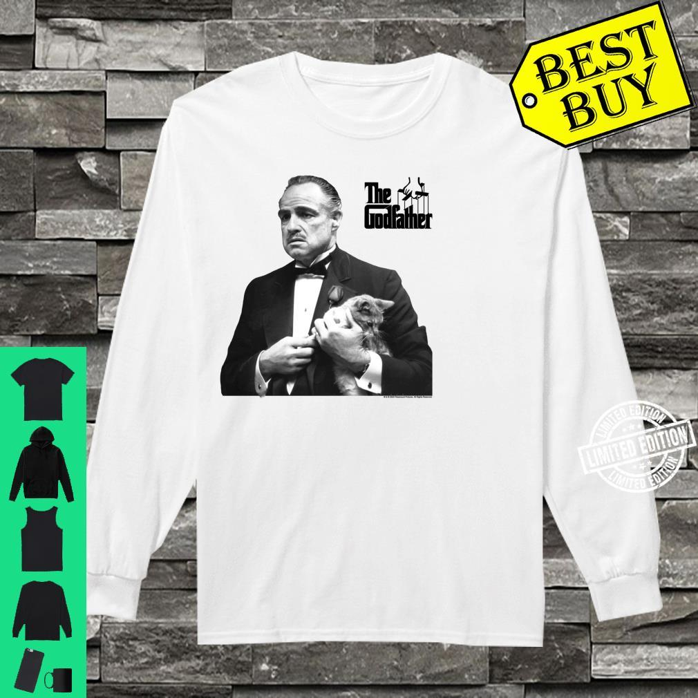 The Godfather, The Don with Cat White Shirt long sleeved