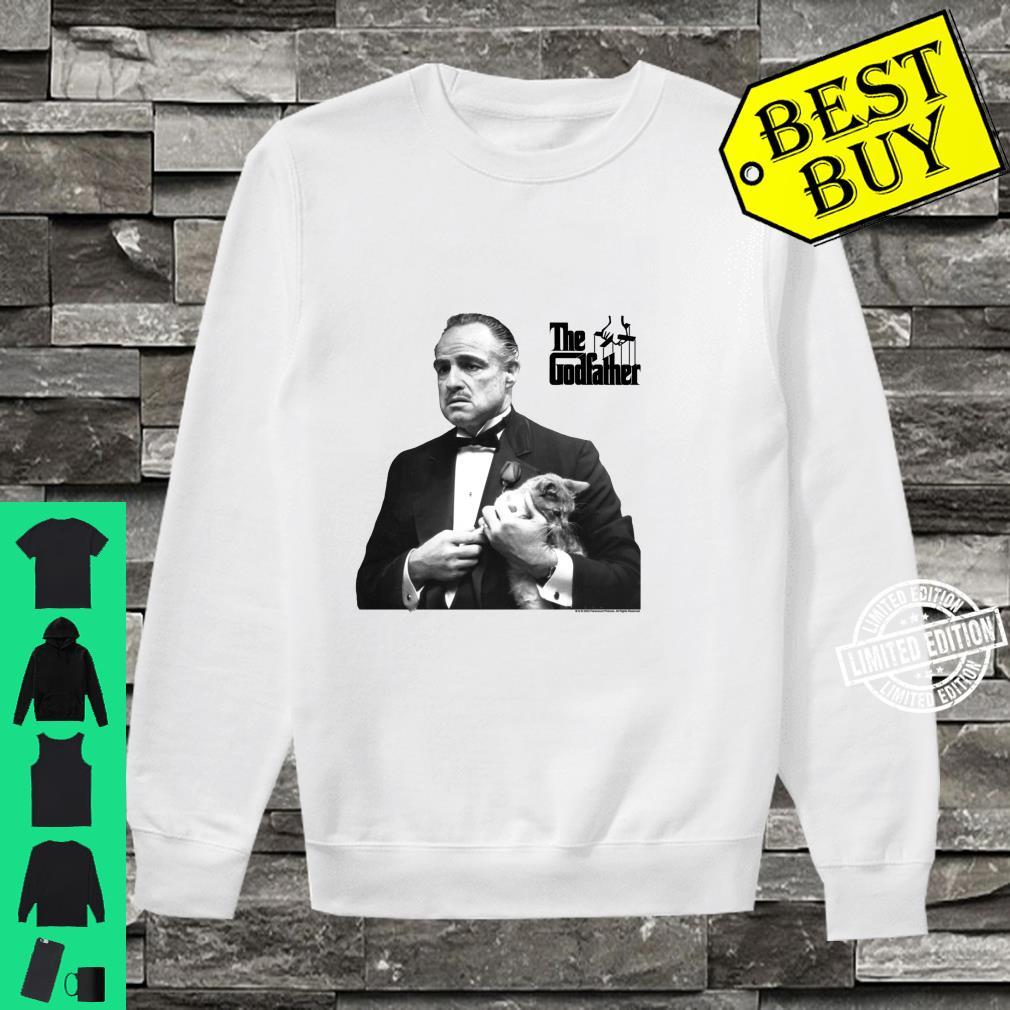 The Godfather, The Don with Cat White Shirt sweater