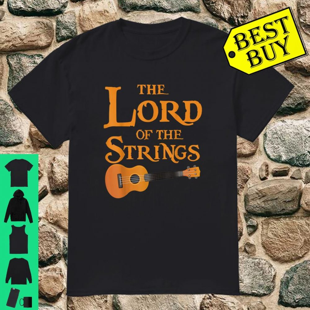 The Lord Of The Strings Music Guitar shirt