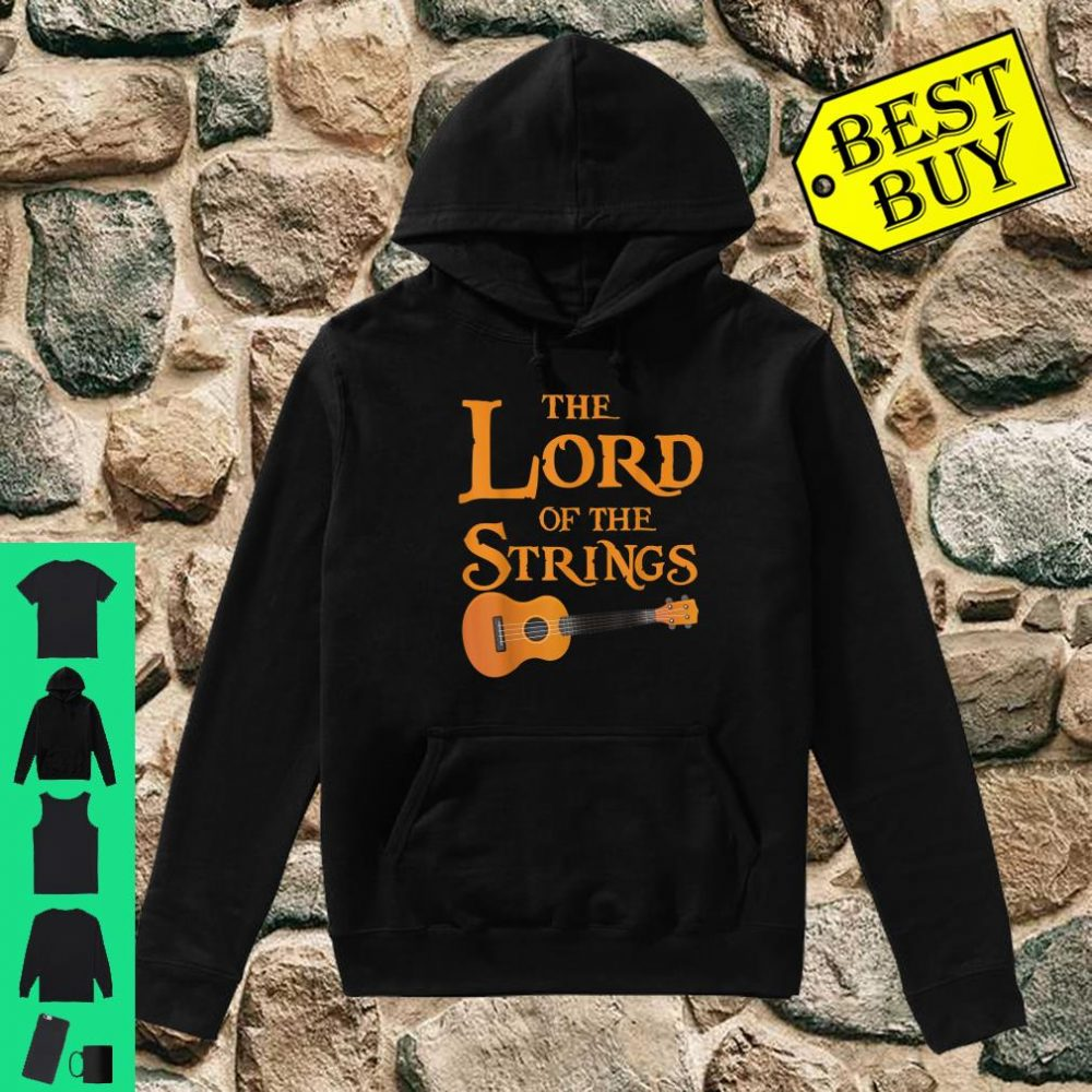 The Lord Of The Strings Music Guitar shirt hoodie