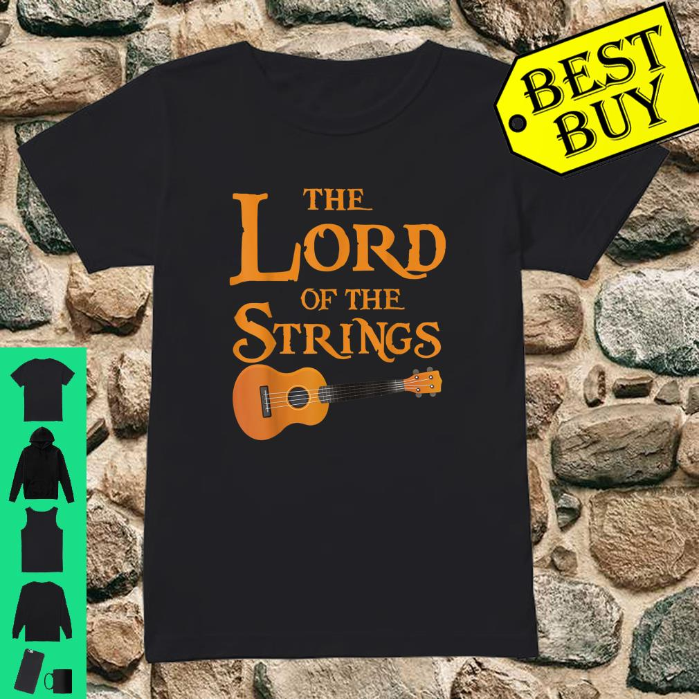 The Lord Of The Strings Music Guitar shirt ladies tee