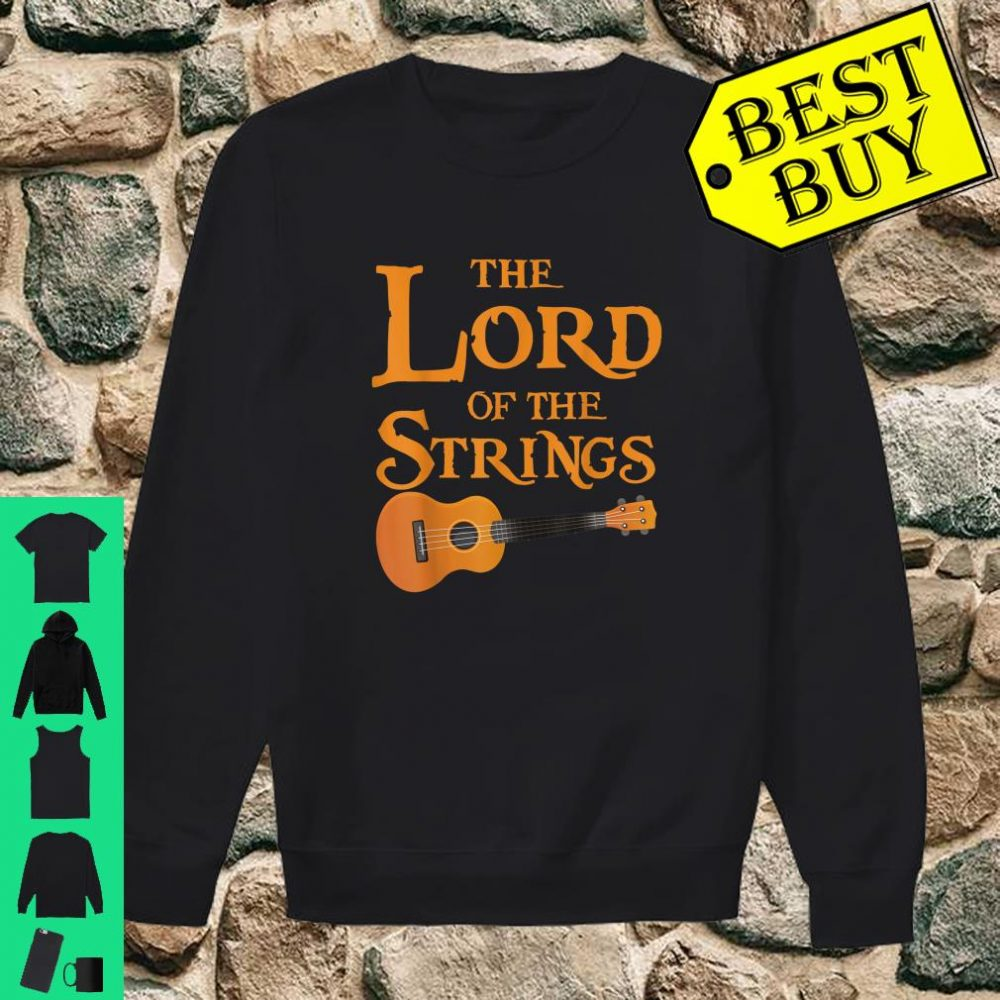 The Lord Of The Strings Music Guitar shirt sweater