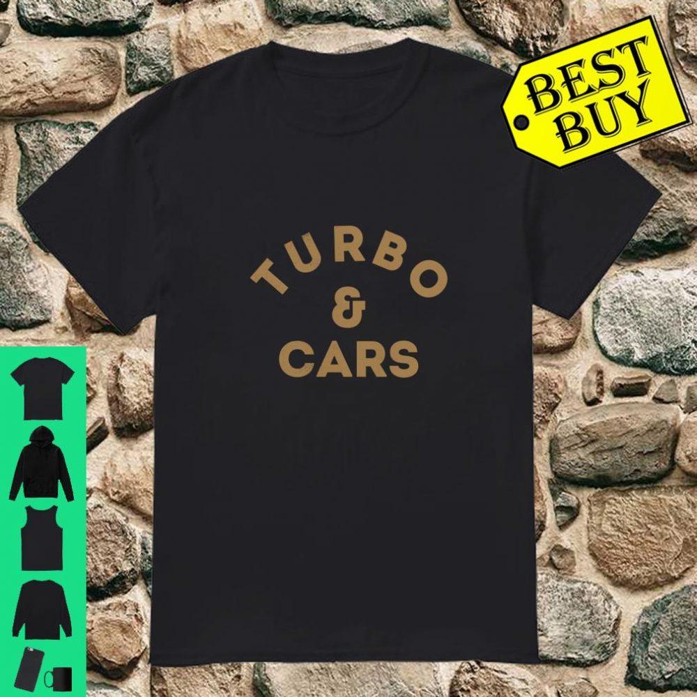 Turbo and Cars shirt