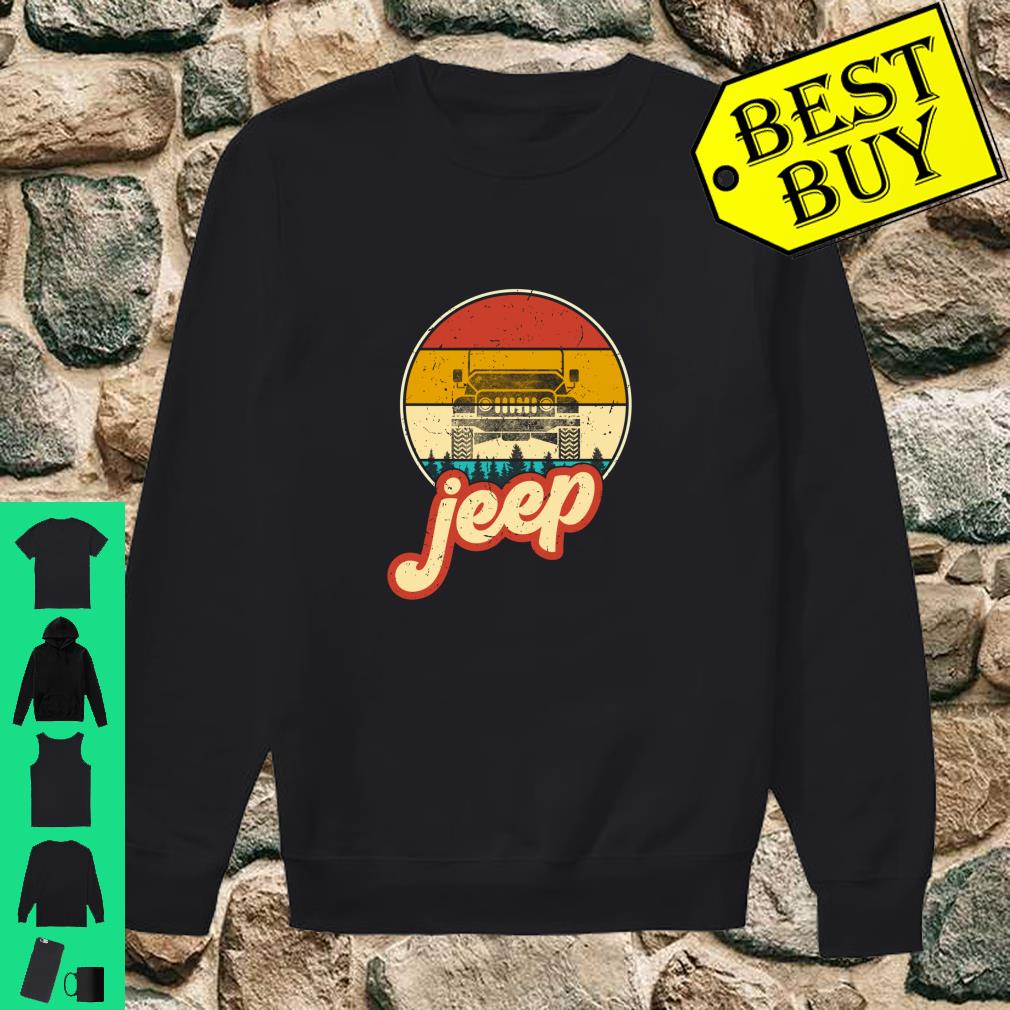 Vintage Jeeps Retro 70s Sunset Off Road shirt sweater