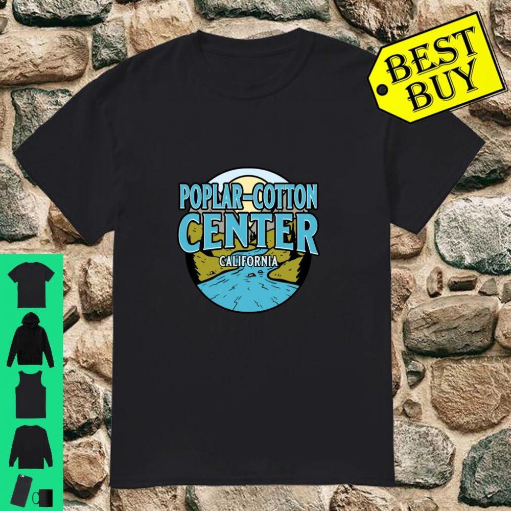 Vintage Poplar Cotton Center California River Valley shirt