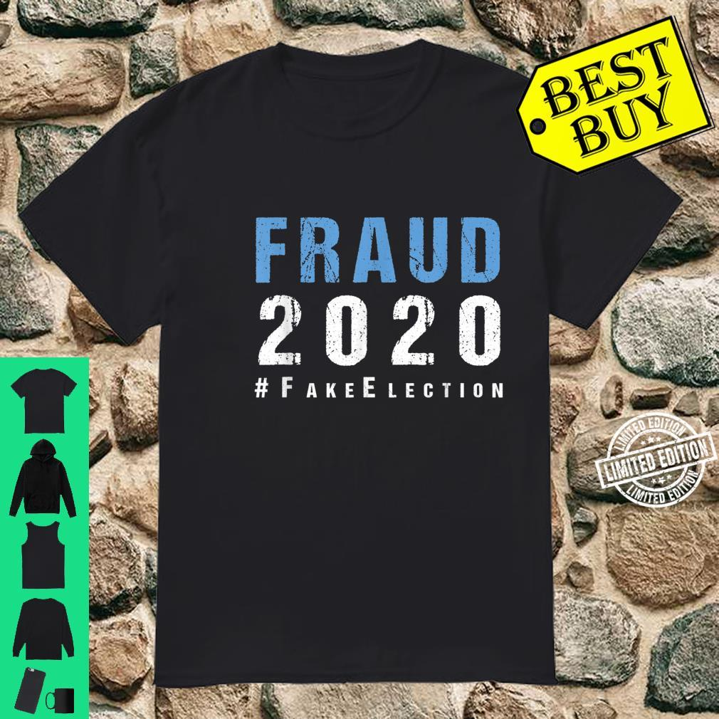 Voter Fraud Rigged Stolen Election 2020 Shirt