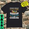 Weekend Forecast Quilting House Cleaning Or Cooking Shirt