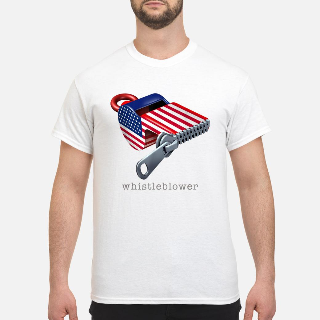 Whistleblower and United States Shirt
