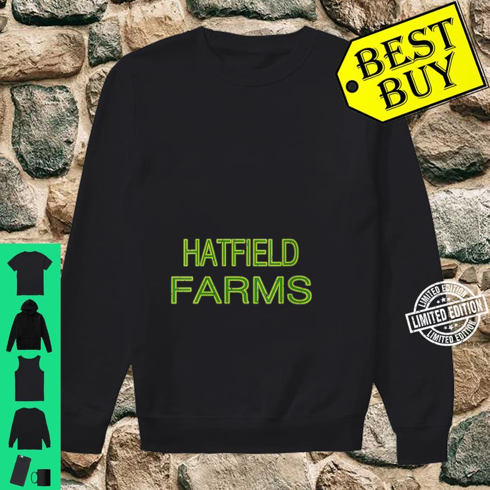 Womens HATFIELD Farms Squad Family Reunion Last Name Team Shirt sweater