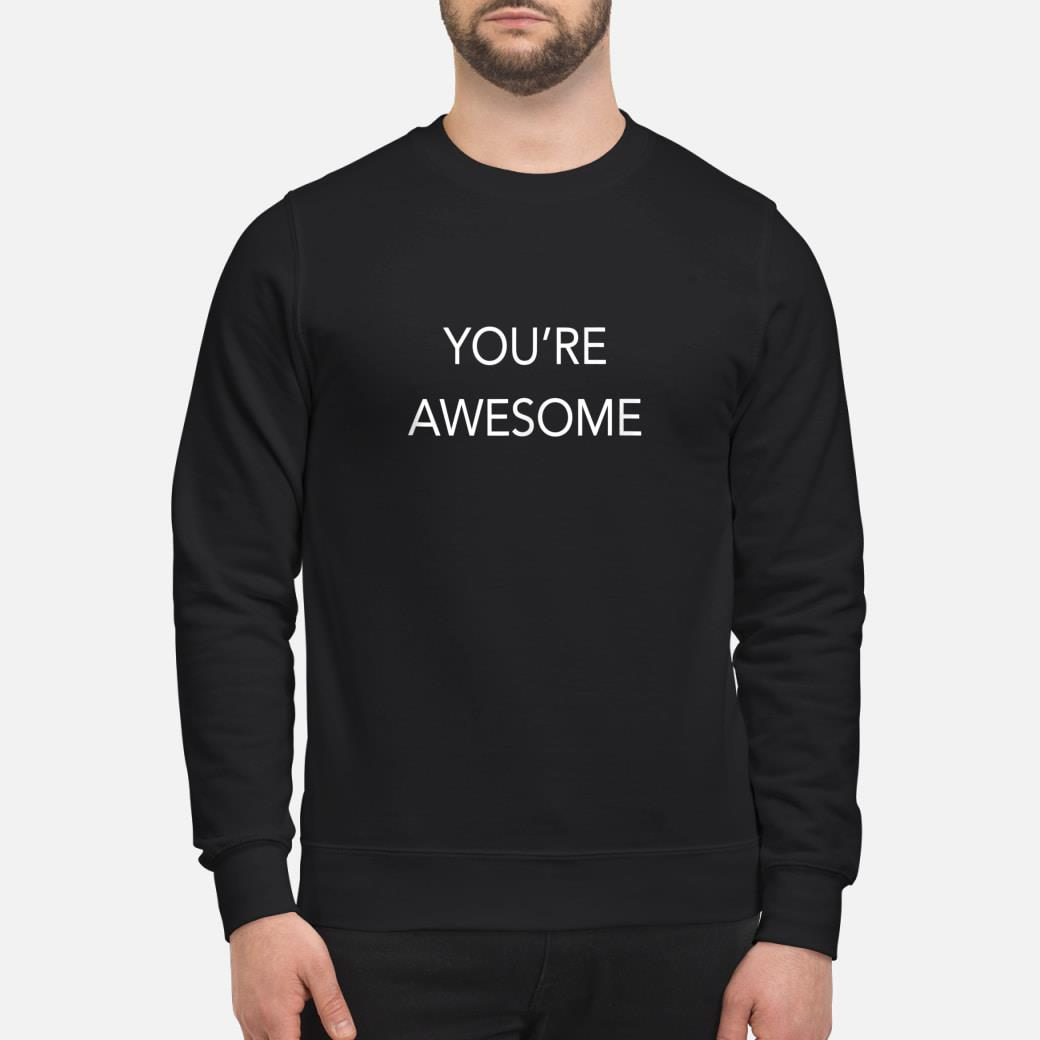 You're Awesome shirt sweater